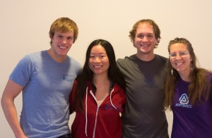 The Apptimize team minus Dustin, who's traveling!